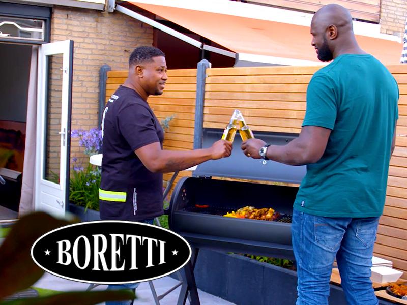 Unpackfilm voor Boretti