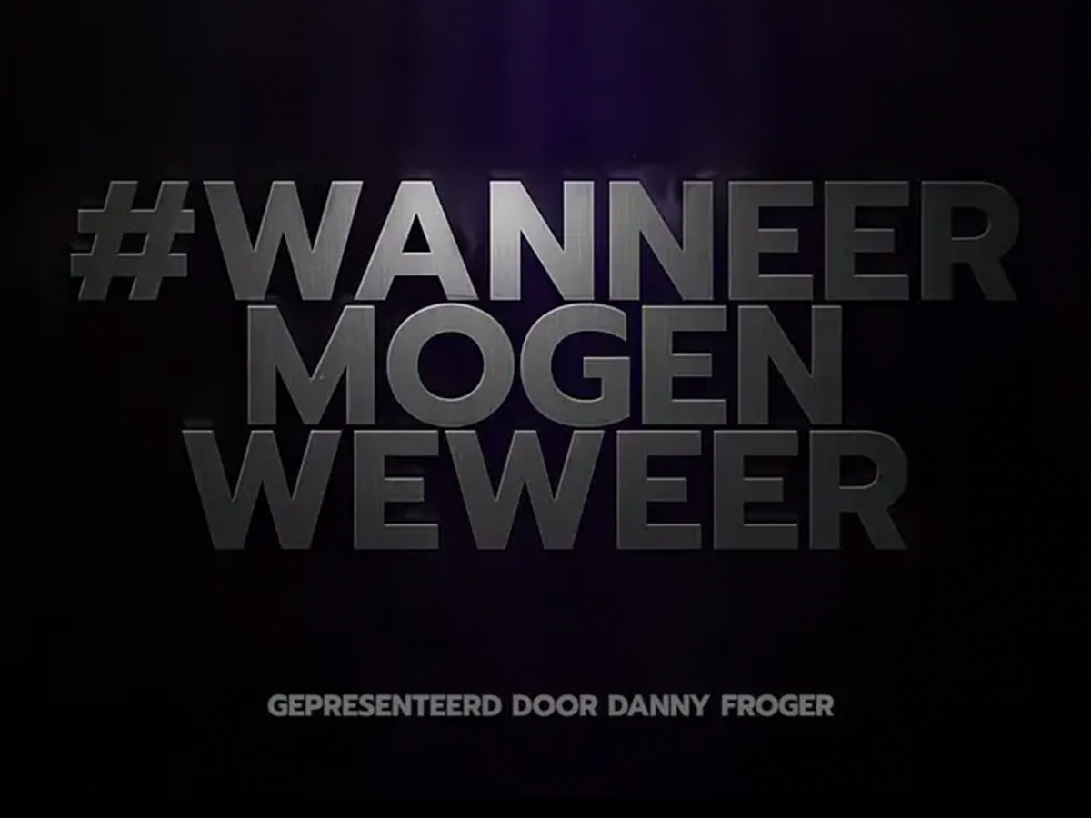 Documentaire #WANNEERMOGENWEWEER